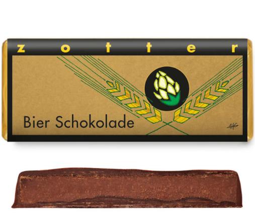 Zotter Bierschokolade