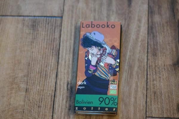 Zotter Bolivien 90 % Kakaoanteil