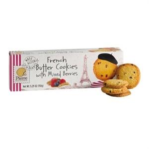Pierre Biscuiterie Butter Cookies Berry Mix