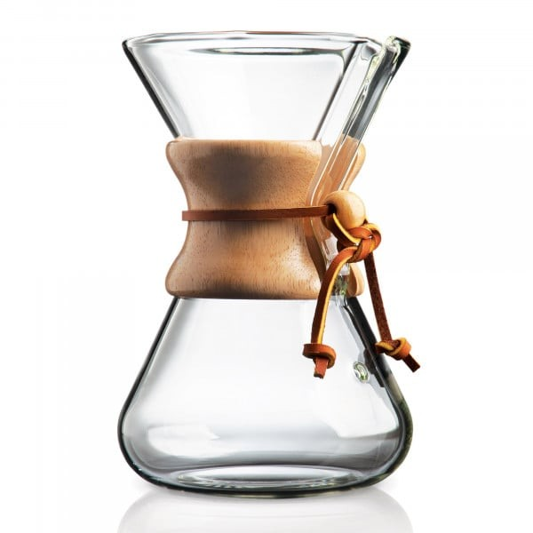 Chemex Kaffeekanne , mundgeblasen
